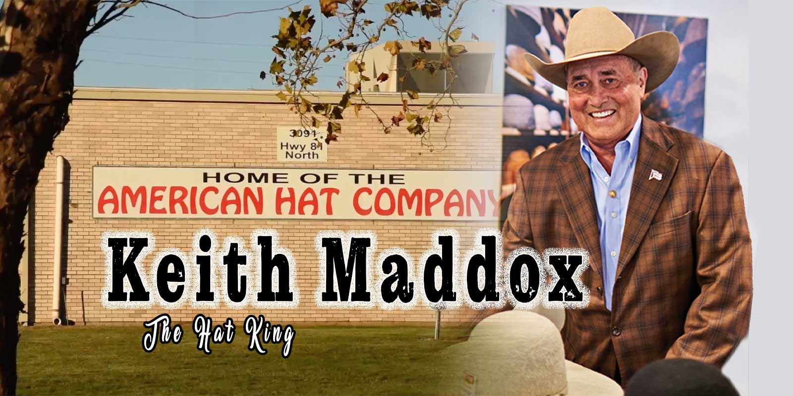 Keith Maddox american hat company