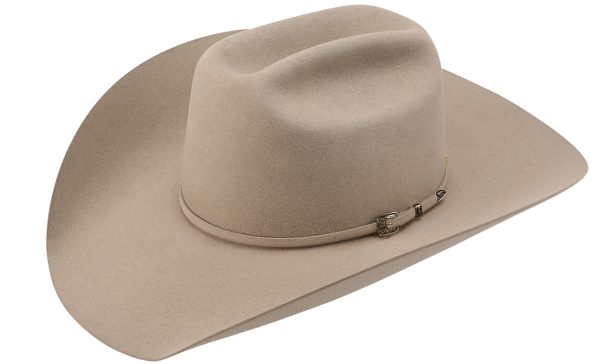american hat company grizzly cowboy hat black