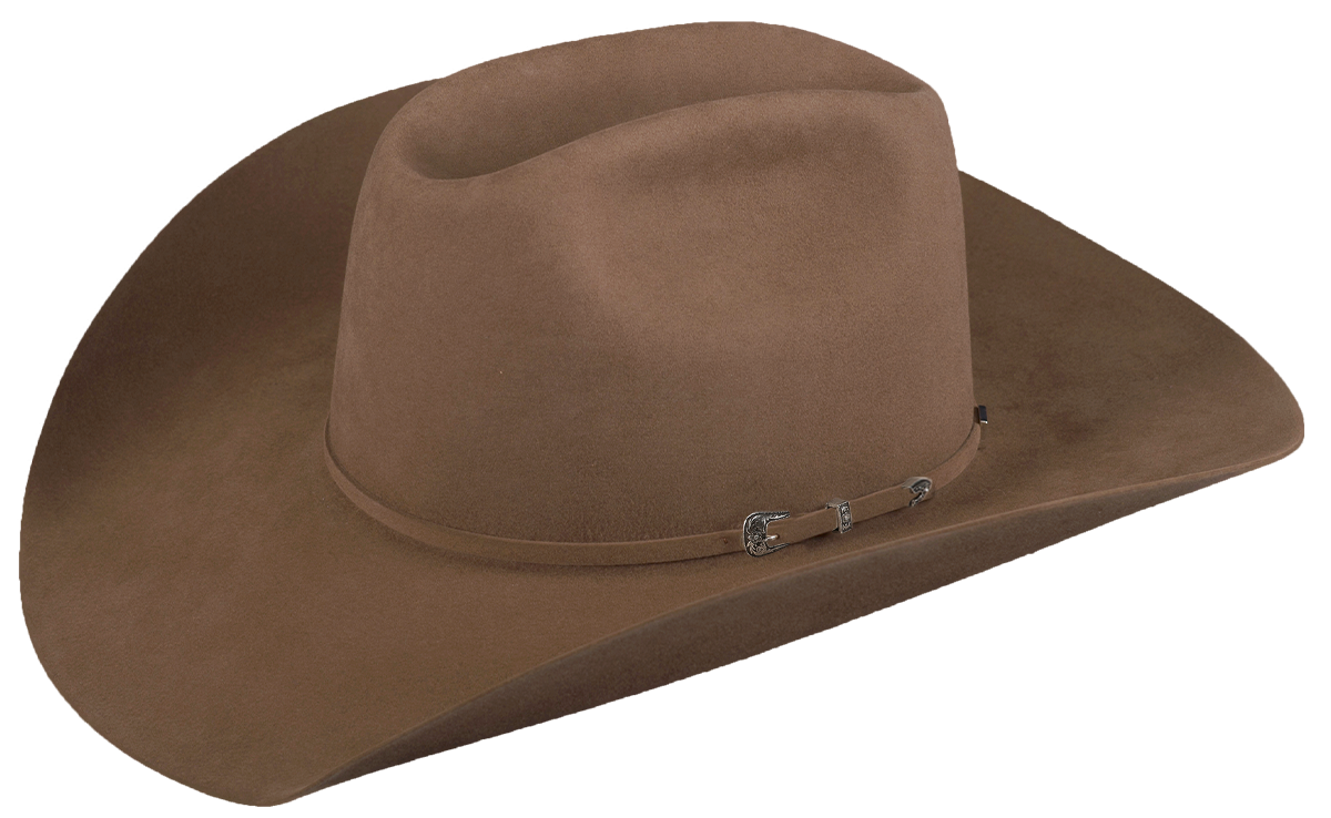 american hat company grizzly cowboy hat black cherry pecan 20x pecan