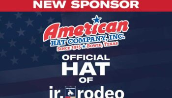 The New Official Hat Of The PRCA's Jr. Rodeo