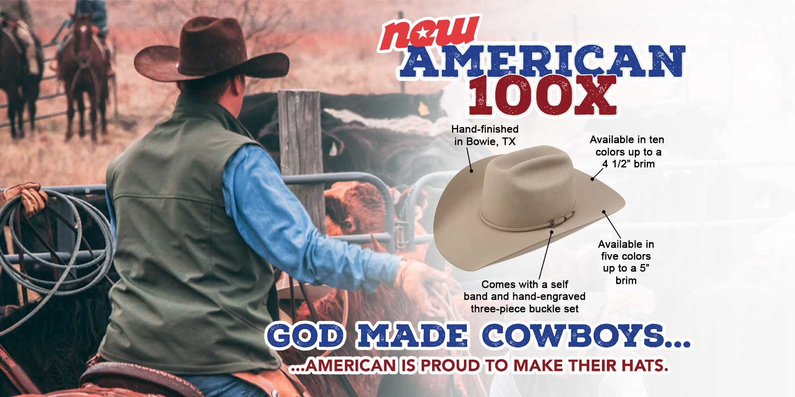 100x hat American Hat Company positive times the hat king