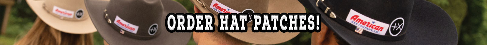 American Hat Company hat patches positive times