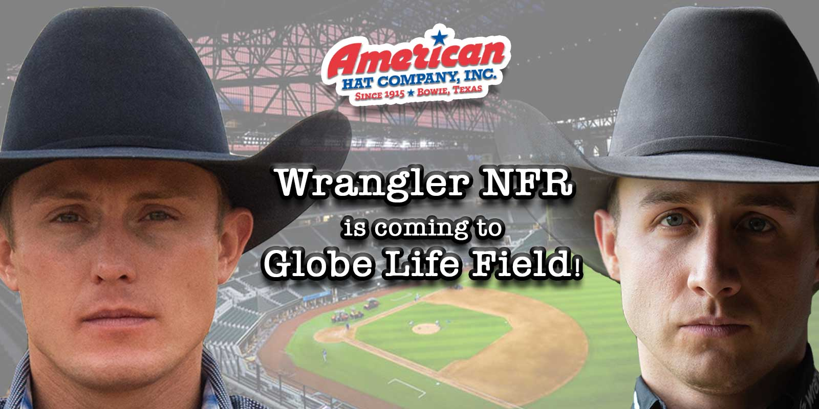 American Hat Company American Hat Co positive times nfr wnfr wrangler national finals rodeo Las Vegas dickies arena at&t stadium Dallas Cowboys rodeo