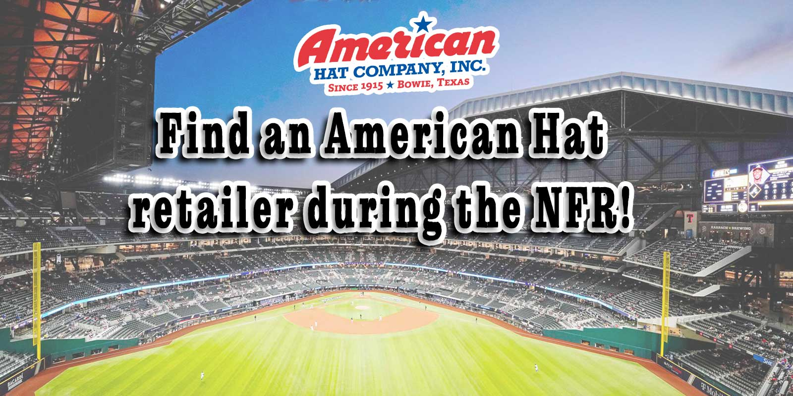 American Hat Company Nfr retailers