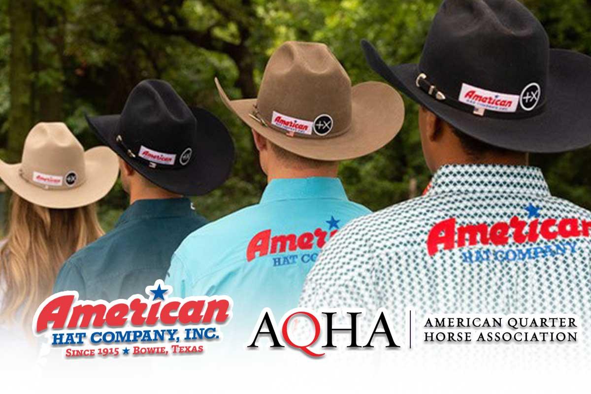 american quarter horse association aqua American Hat Company positive times